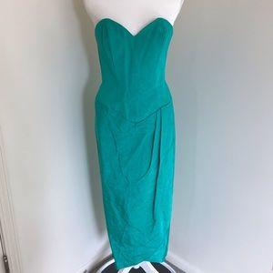 Dresses & Skirts - Vintage 80s Strapless Dress